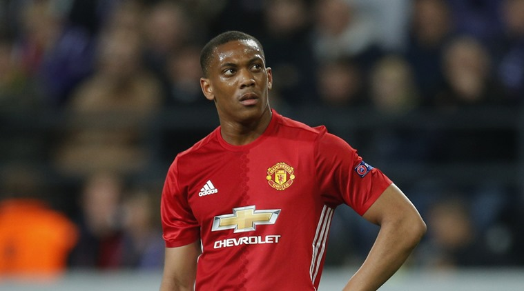Martial don return to United training