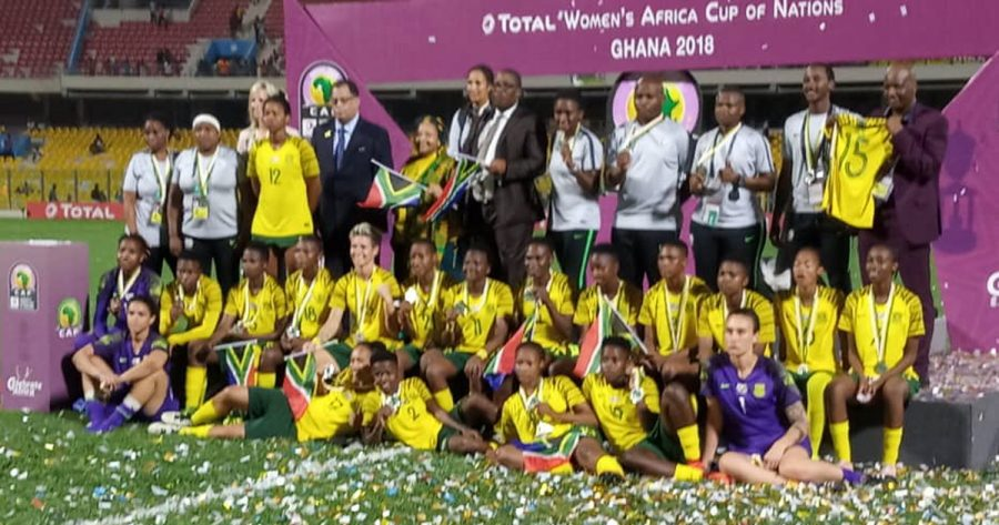 Banyana Banyana receive heroes' welcome