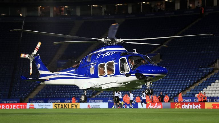 Leicester owner's helicopter crash caused by Mechanical fault