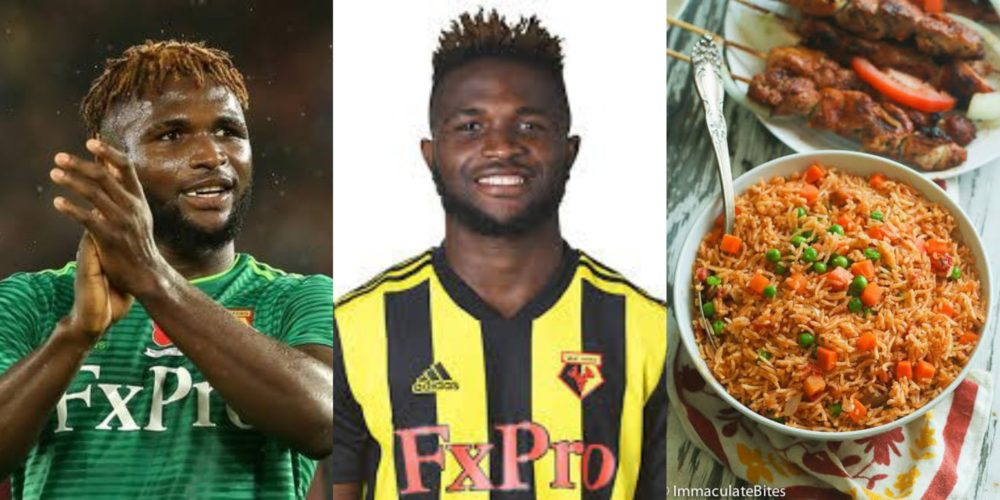 Did you hear Isaac Success regained form after ditching Nigerian Jollof?