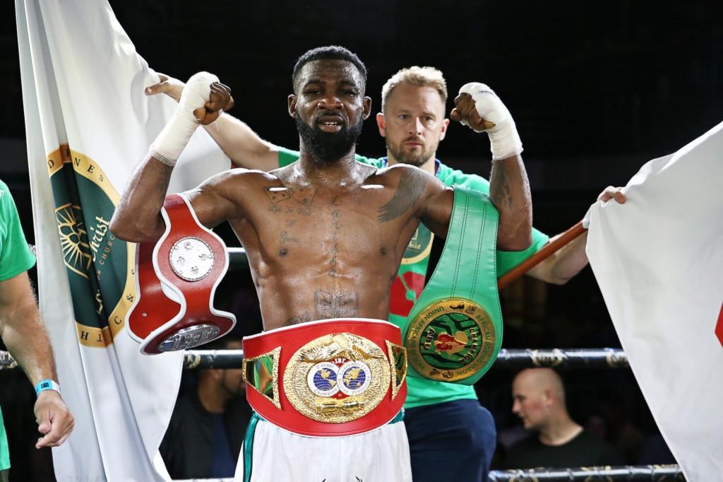 Larry Ekundayo retains IBF title