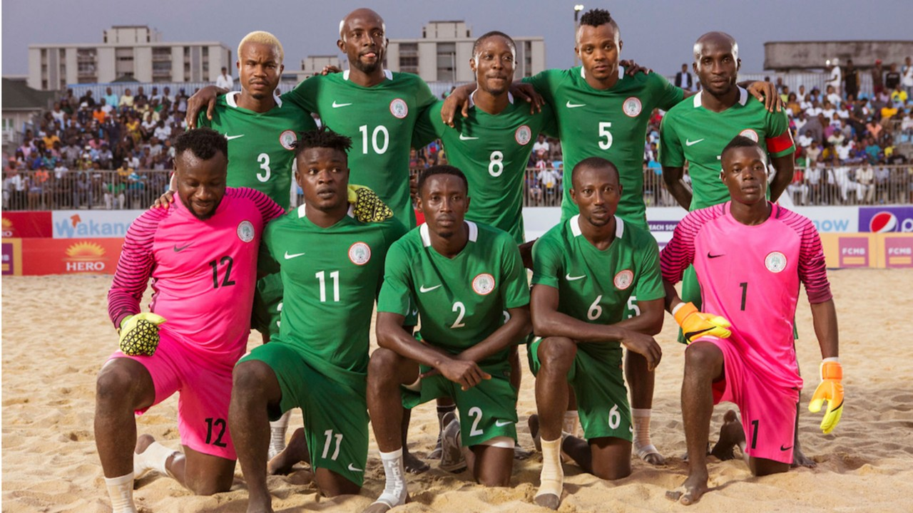 Adamu expects Nigeria's Sand Eagles to pick World Cup ticket in Egypt