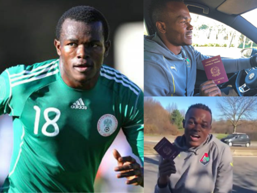 Obinna Nsofor celebrates his Italian passport