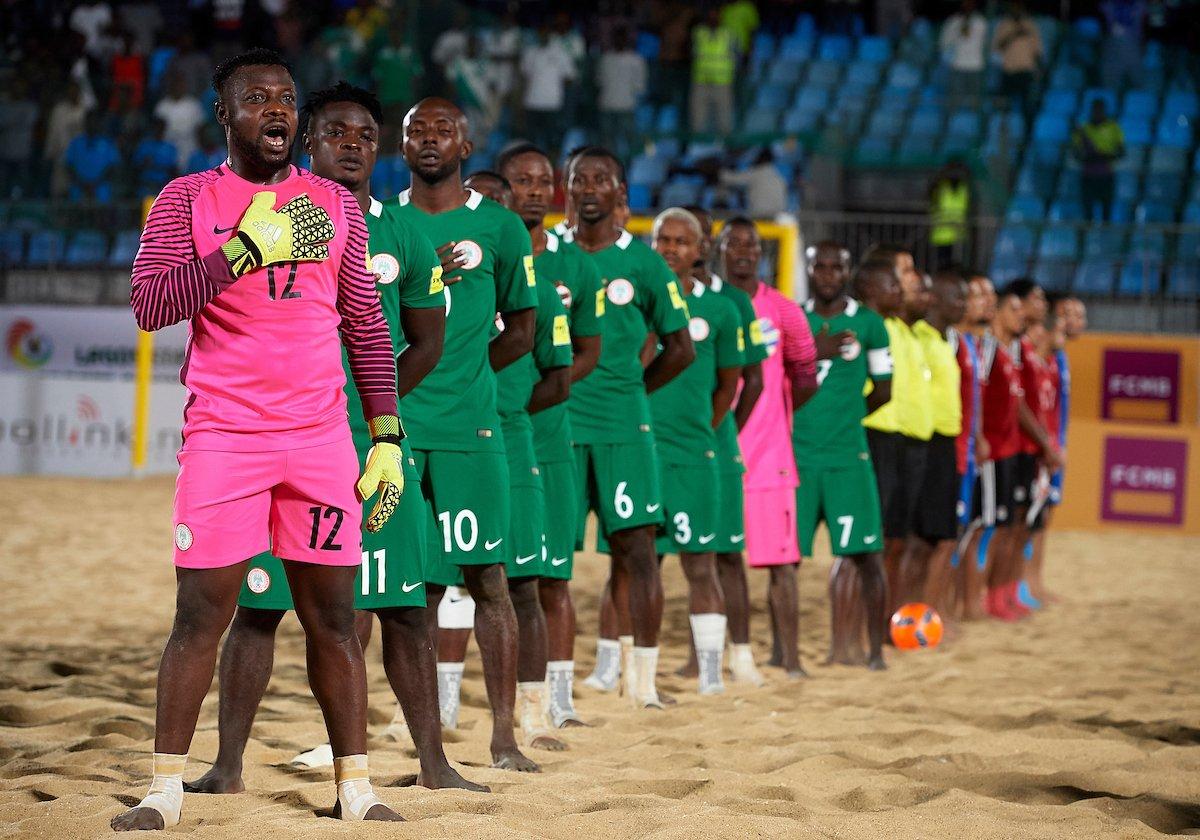 Image result for Nigeria's Super Sand Eagles