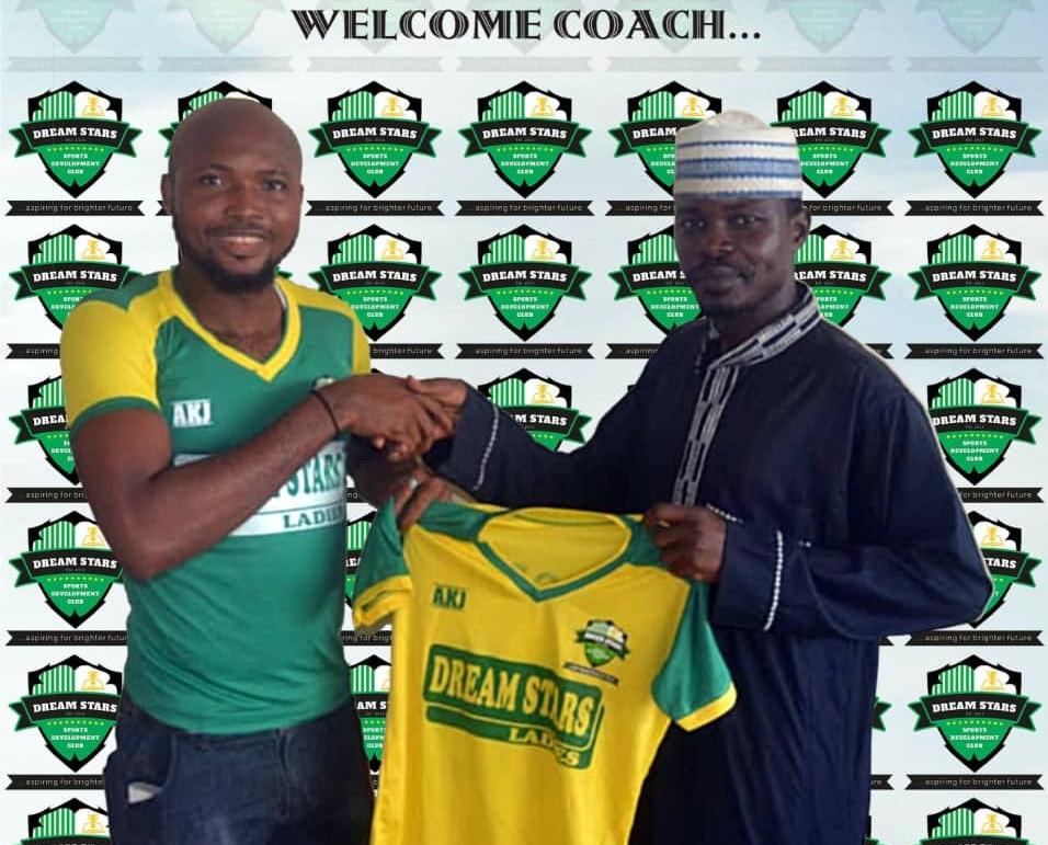 Dream Stars Ladies Unveils Felix Nwosu as Head Coach
