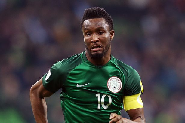 Injury Rules Eagles Captain Mikel Out Of AFCON 2019