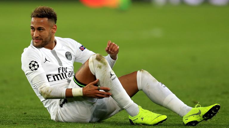 PSG's Neymar ruled out of Champions League tie with Manchester United