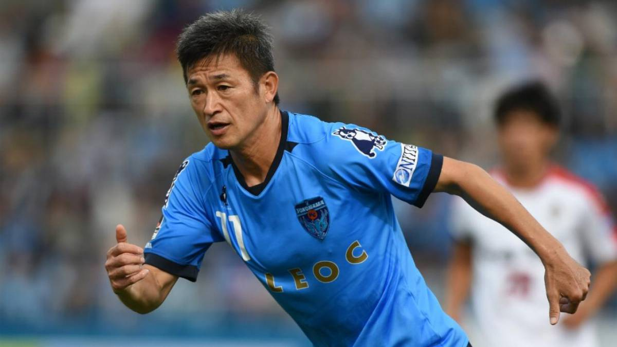 At 51! Japanese star Kazuyoshi Miura signs new Yokohama FC contract