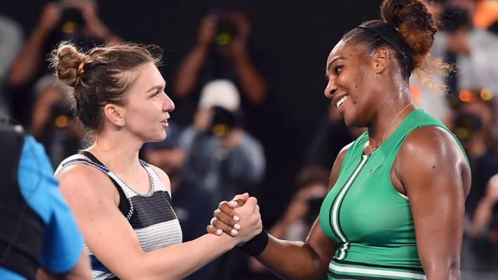 Simona Halep loses to Serena Williams at Australian Open