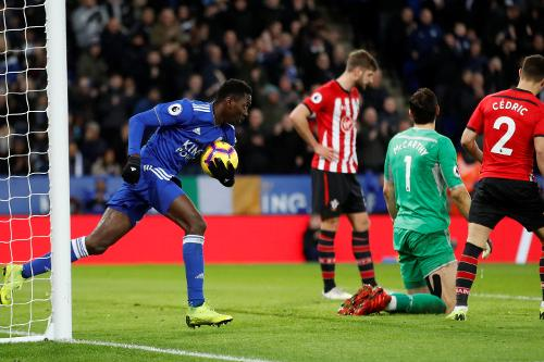 Ndidi scores second goal of the season in Leicester's loss to Southampton