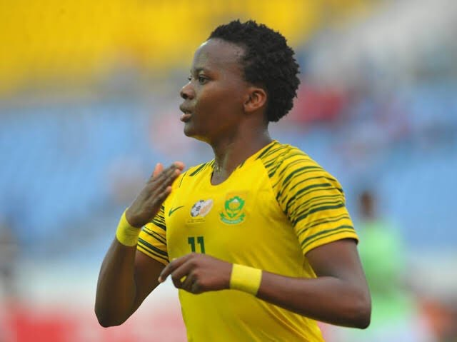 South Africa's Thembi Kgatlana beats Oshoala to win African Women's Player of the Year Award