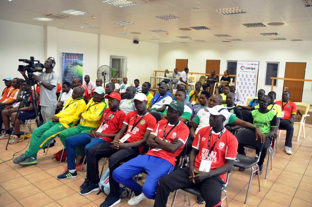 Third NPFL/LaLiga U15 coaching clinic lights up Abuja