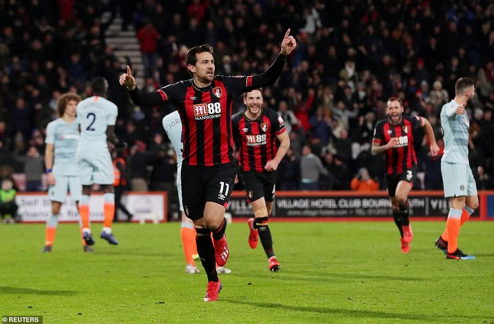 Bournemouth thrash 'Shambolic' Chelsea 4-0 at the Vitality Stadium