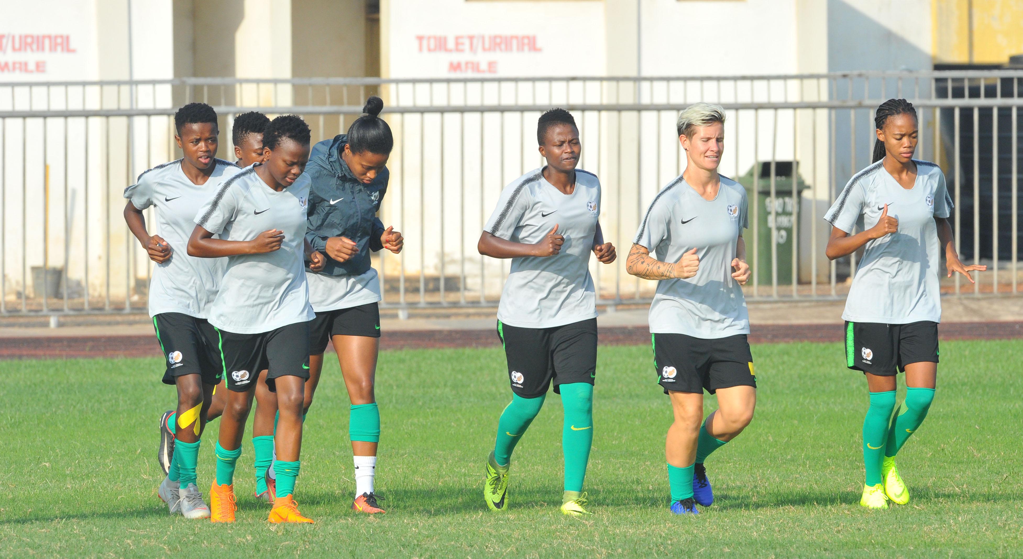 Banyana Banyana kickstart World Cup preparations