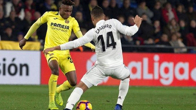Chukwueze Stars For Villarreal in Real Madrid 2-2 draw, Bags Assist