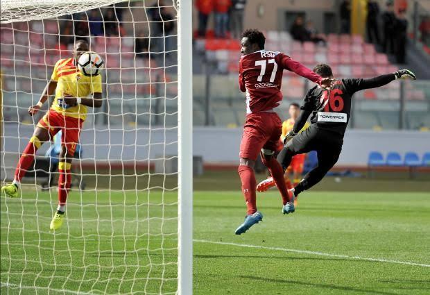 Haruna Garba scores again in Malta
