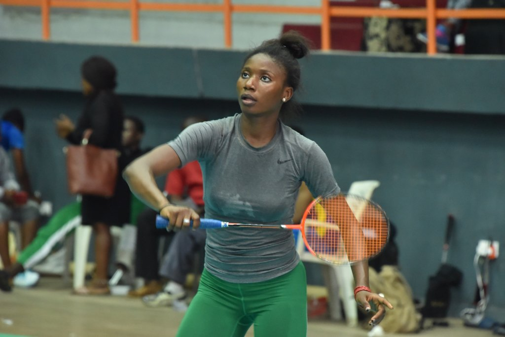 Africa's best Badminton player Adesokan getting ready for 2020 Olympics