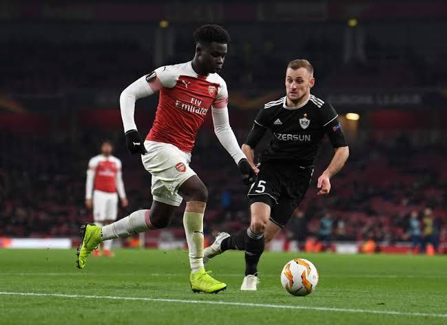 Bukayo Saka delighted to make Arsenal' EPL debut