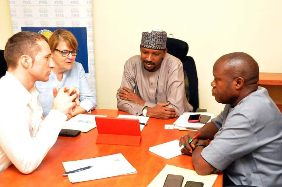 NFF, NIKE happy to work together – Shehu Dikko
