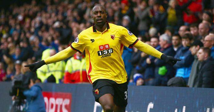 Okaka departs Watford for Udinese