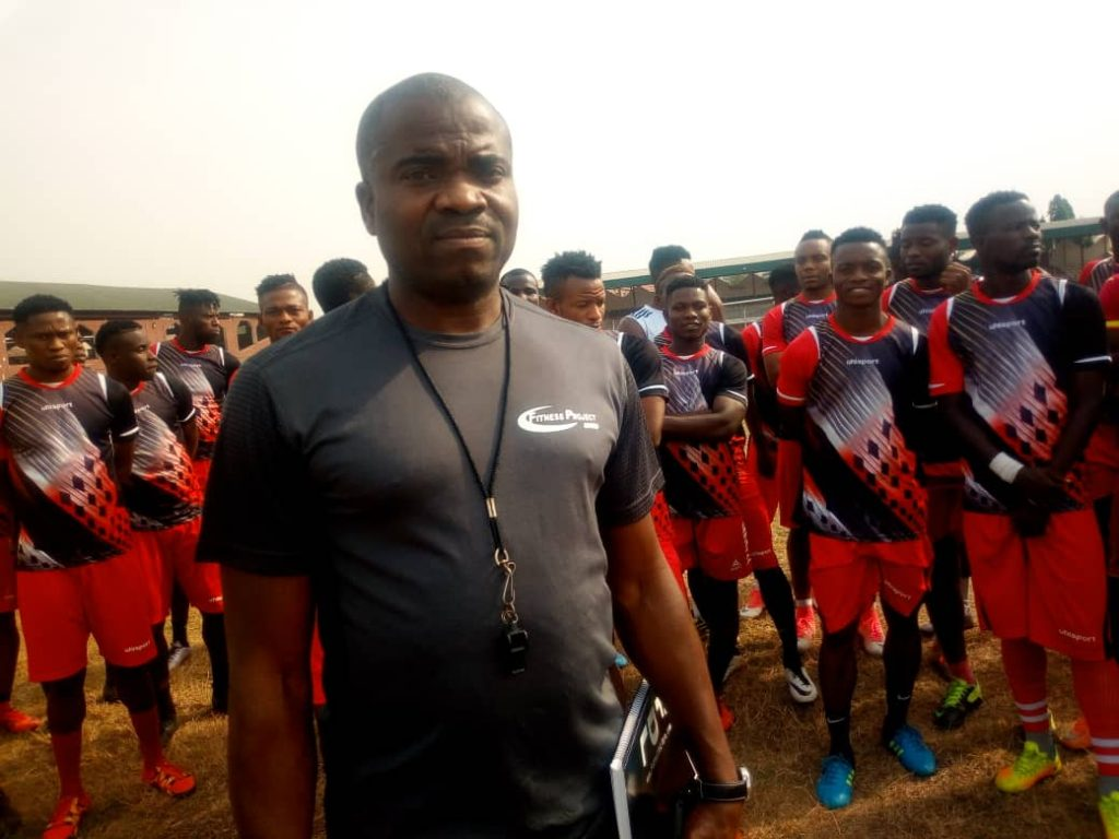 Makinwa leads Abia Warriors out in training for the first time