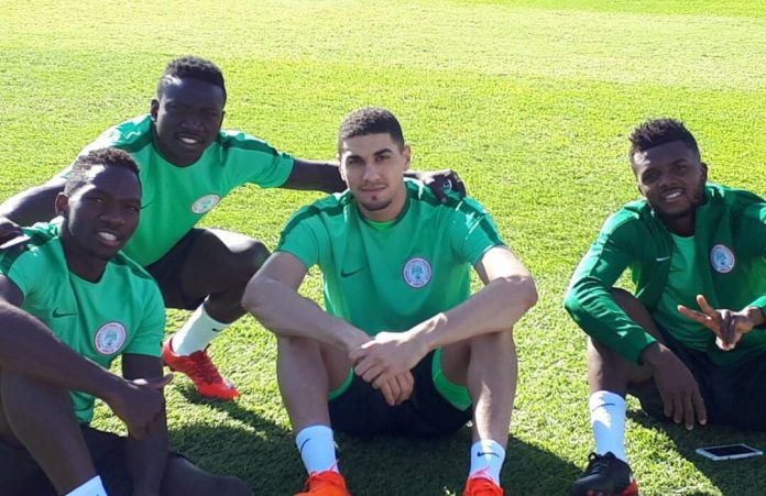 Balogun enjoys learning religious songs while on Eagles duty