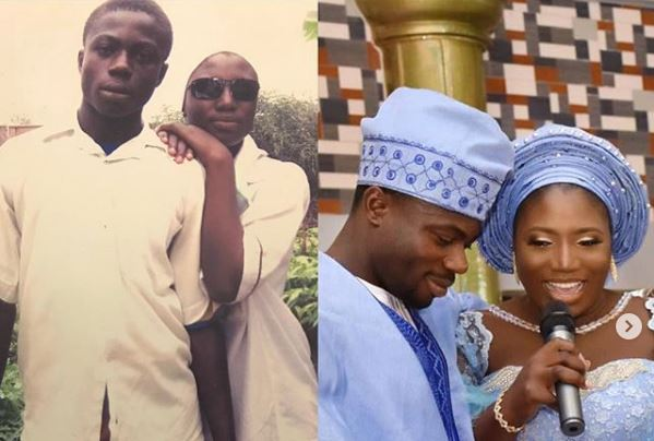 Moses Simon shares epic throwback photo in #10yearChallenge