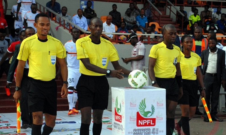 Referees will continue to officiate NPFL matches despite attacks