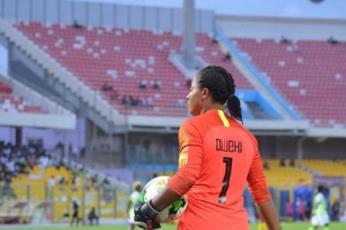 Falcons' goalkeeper hails NFF over 2019 world cup timely preparation