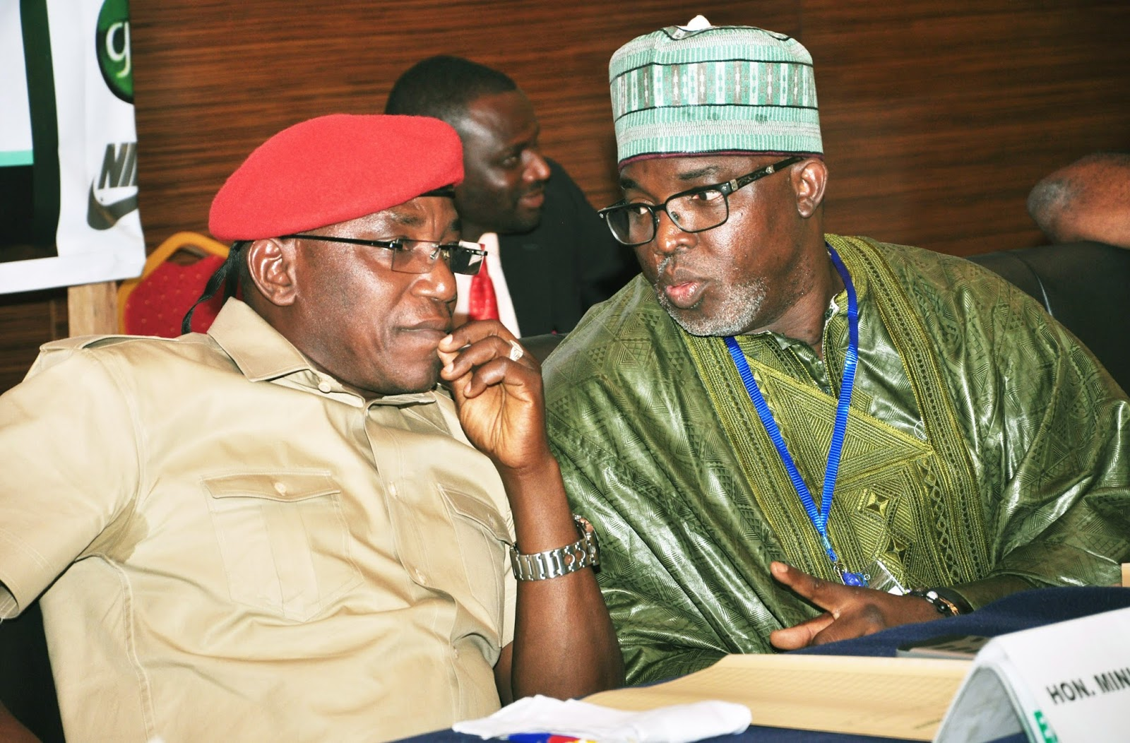 Dalung, Pinnick, Dikko in UK for meetings with NIKE