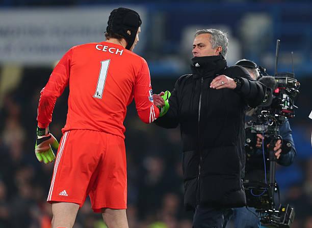 Mourinho hails Petr Cech as Goalkeeper announces retirement