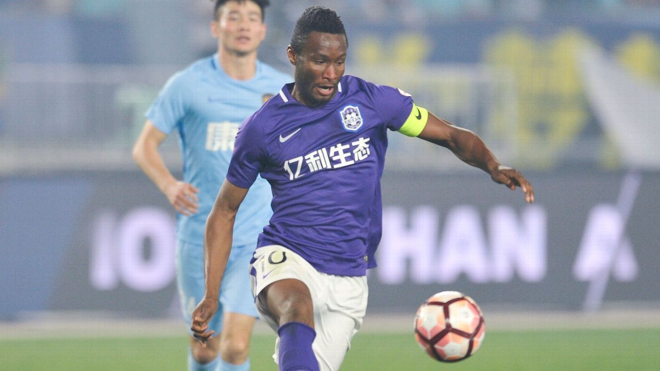 Mikel could remain in China after Tianjin TEDA exit