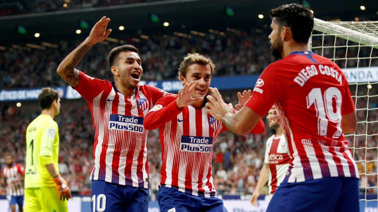 Huesca VS Atletico Madrid – Double chance & La liga betting odds