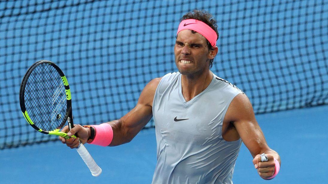 Rafael Nadal dey ginger for ATP finals