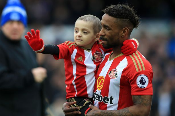 How late Bradley Lowery changed Jermain Defoe will inspire you