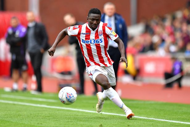 Etebo Make Cameo Appearance In Stoke City's Draw With Derby County