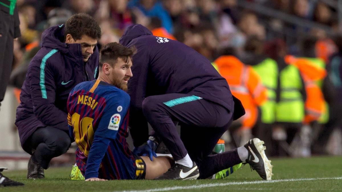 Lionel Messi misses Barca training ahead of 'El clasico'
