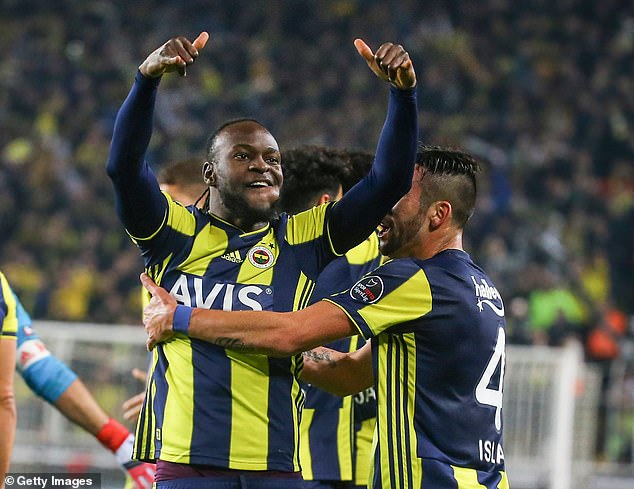 Victor Moses Scores First Fenerbache Goal