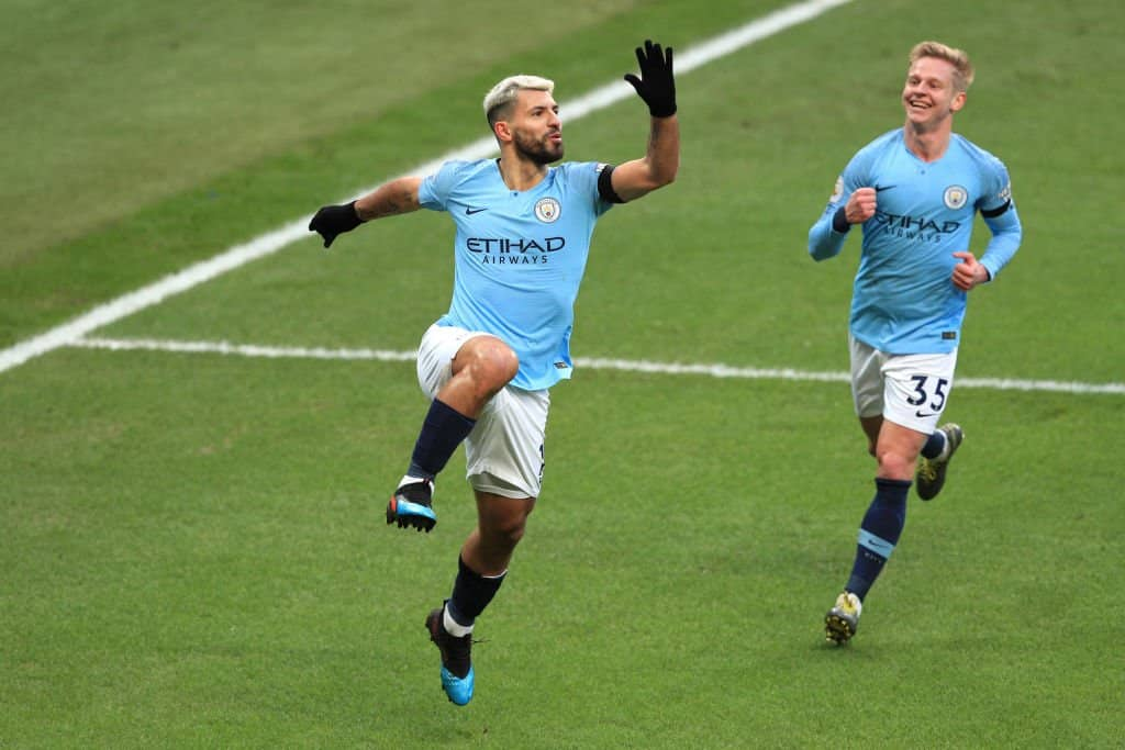 Hat-trick for Aguero as Man City demolish Chelsea at Etihad