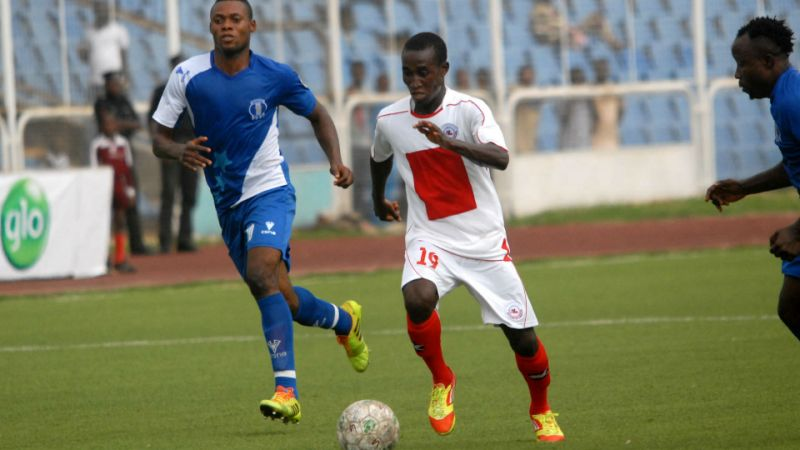 Aguda sets sight on finishing as CAF Confederation cup top scorer