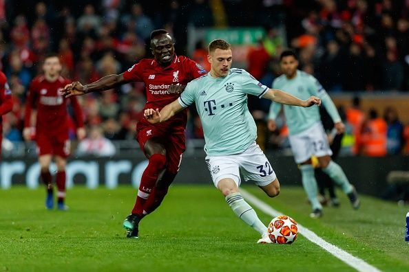 Yobo hails 'suspended' Josh Kimmich's performance for Bayern vs Liverpool