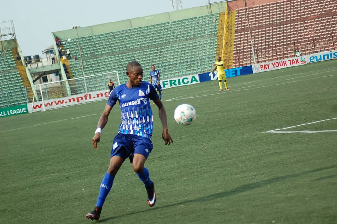 Ubakanma blames bad turf for Rivers United 1-1 draw against Insurance