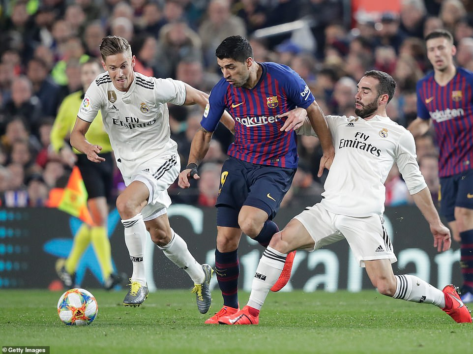 Barcelona come back in Clasico semi-final to draw with Real Madrid