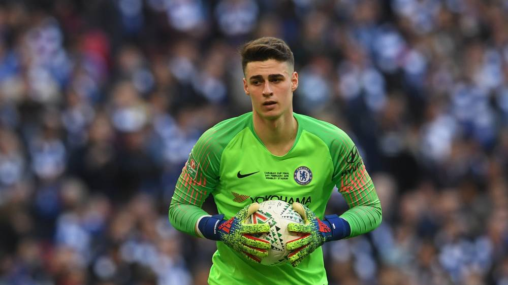 Kepa fined by Chelsea after refusing to be substituted vs Man City