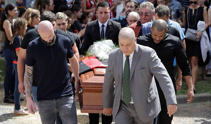 Emiliano Sala finally laid to rest in Argentina