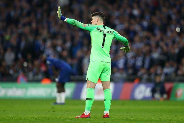 He was Wrong! Chelsea's Kepa attracts international condemnation over Substitution Row with Sarri