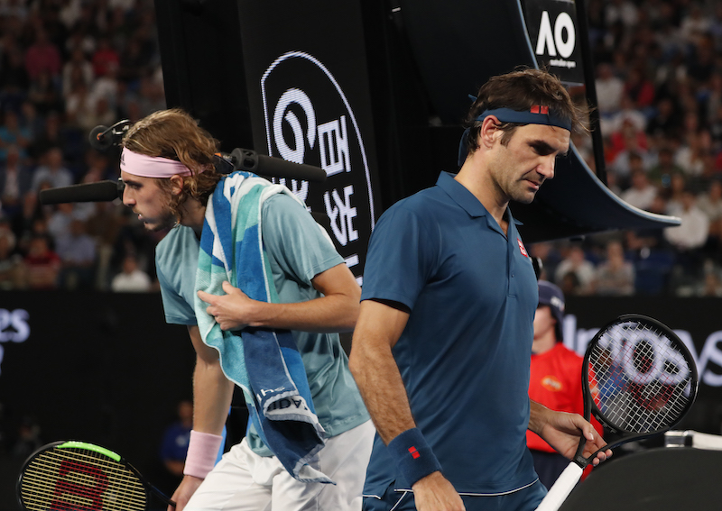 How Stefanos Tsitsipas announced himself on the biggest stage after beating his idol Federer