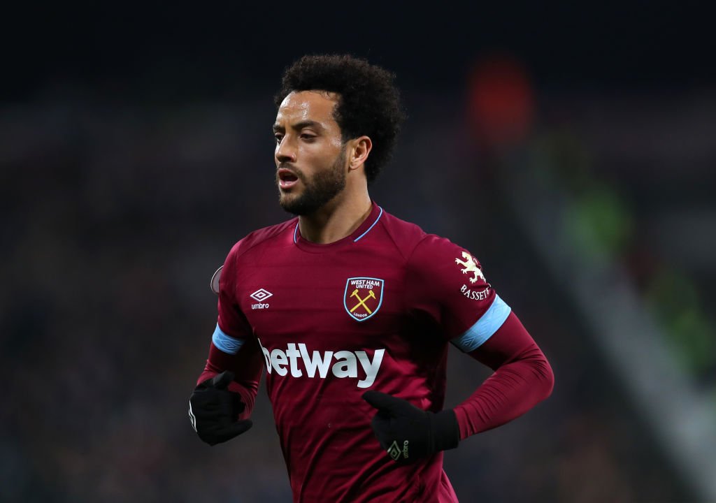 A difficult childhood: West Ham's Brazilian midfielder Felipe Anderson