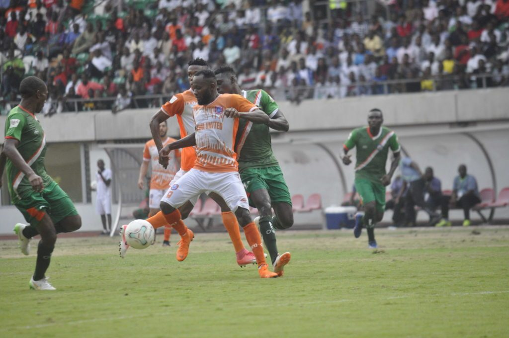 Akwa United's Mfon Udoh eyes NPFL top scorer's award