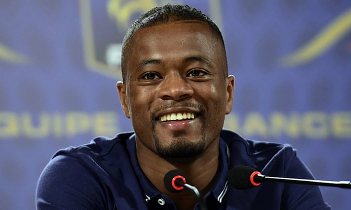 Patrice Evra sends special message to United players ahead PSG tie